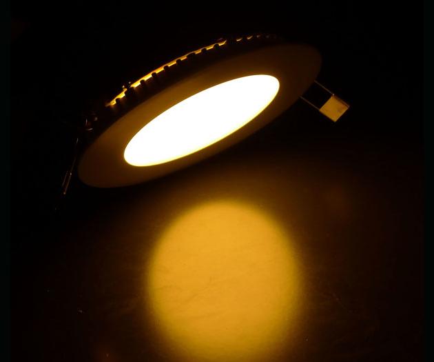 Đèn LED panel tròn 6W