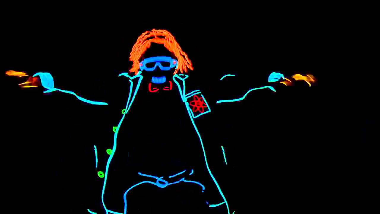 Tiết mục Nhảy kết hợp đèn Led cực vi diệu